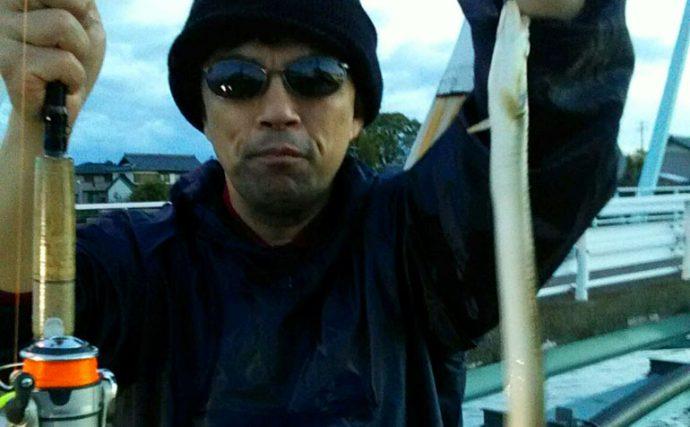 暁の出勤前バトル!愛知県飛島の筏川で天然ウナギを探せ