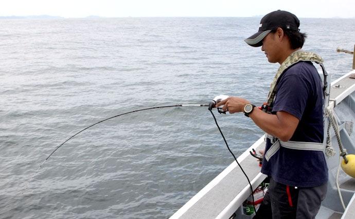 伊勢湾の伝統釣法に挑戦!エビを撒いて釣るウタセマダイ釣り【釣り方編】