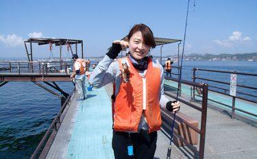 気軽に行けて安全に釣りが楽しめる、九州の海釣り公園へGO!