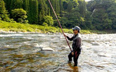 アユの友釣りの基本。泳がせ釣りで天邪鬼なオトリアユをうまく誘導しよう!