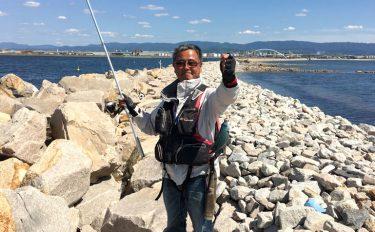 ウキフカセ釣りでお手軽に小魚たちと遊んでみよう。波止場からのグレ釣り