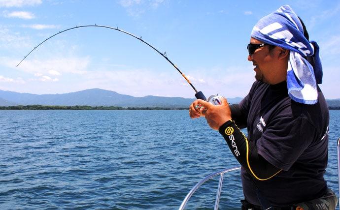 驚きの美味しさで密かなブーム、幻の琵琶湖ビワマスをジギングで狙う!