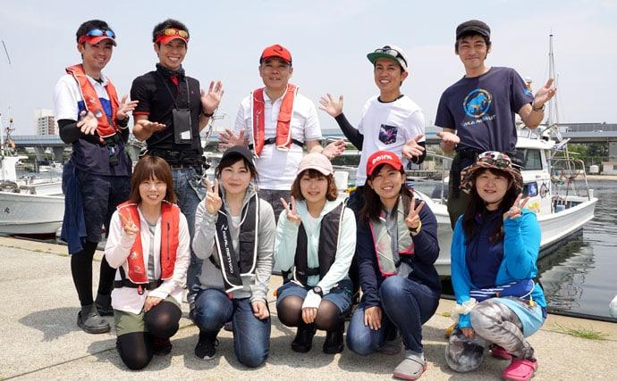 これぞ指幅6本ドラゴン級タチウオ!博多湾タチウオジギングゲーム