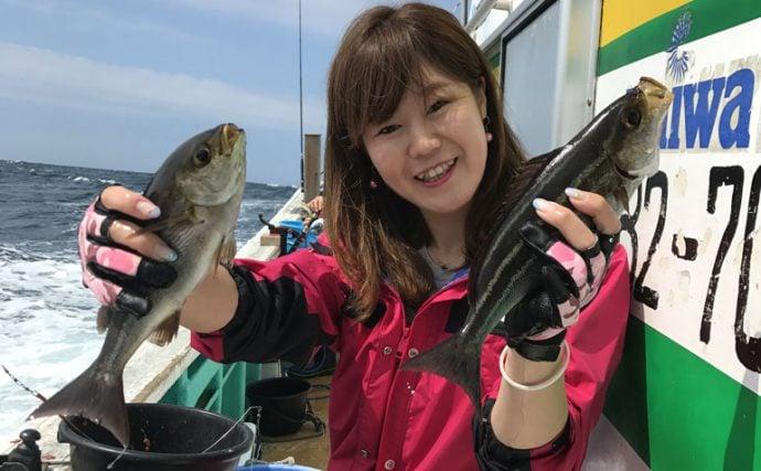 梅雨の釣りといったらやっぱりイサキでしょう!旬の梅雨イサキを釣ろう♪