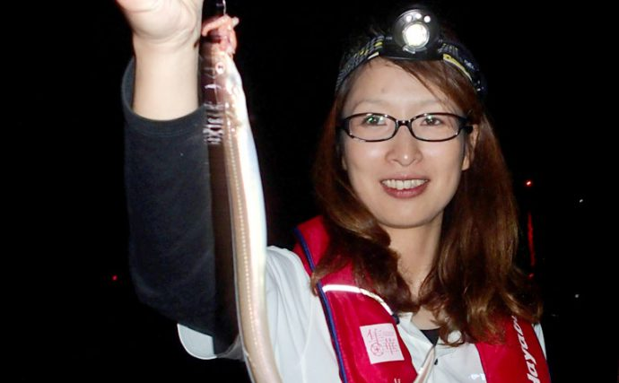 夏の夜の海にヌルリと蠢く長いヤツ。アナゴの投釣り!【タックル編】