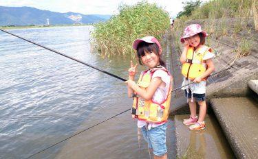 小さい子どもたちと遊べるテナガエビ&ハゼ釣り【愛知県木曽川立田大橋】