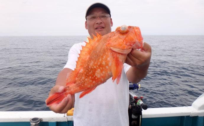 遠州灘の中深海に潜む幻魚アラを追跡せよ【静岡県浜名湖・わし丸】