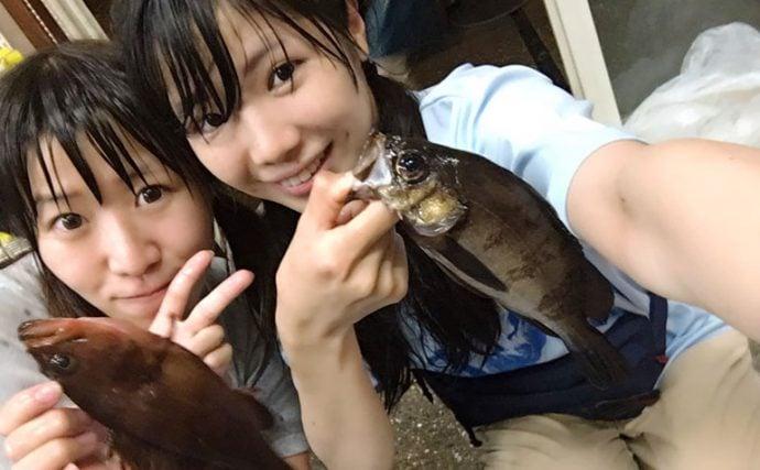 東京湾の好ポイントを釣り船で直撃!いろいろ釣れちゃう夜メバル釣り