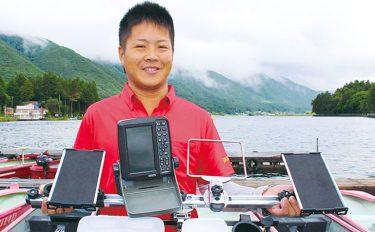 ボートが超システマティックなワカサギ釣り船に大変身!【長野県木崎湖】
