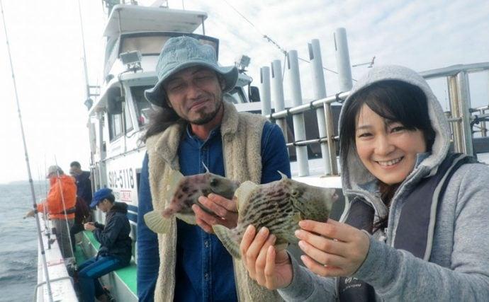 釣り具屋さん直伝!船から狙うカワハギ釣りの秘訣テクニックいろいろ