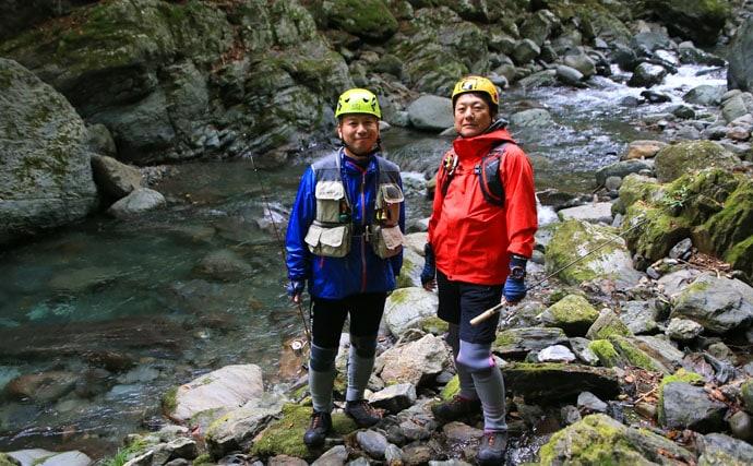 渓流探検に大活躍なアウトドア向けスマートウォッチをフル活用してみた