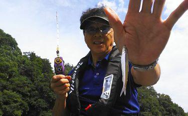 2歳魚主体の大型ワカサギ好調【神奈川県相模湖天狗岩釣り案内所】