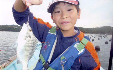 夢見る10歳念願のカセでクロダイ【三重県フィッシングセンターマンボウ】