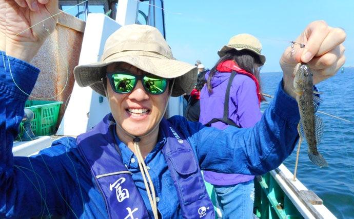 都心から海に出られて気軽に楽しめるハゼの船釣り【東京都深川冨士見】