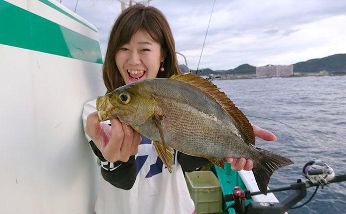 多彩な魚が狙える根魚五目釣り!南房総は美味しい高級魚のパラダイス