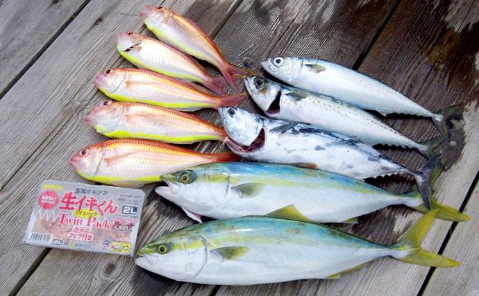 ぶらり熱海旅行が華やかに!短時間沖釣りで高級魚ゲット【静岡県裕海丸】