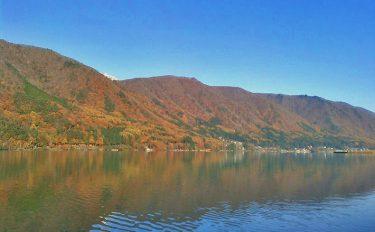 澄んだ湖面にボートを浮かべ、ワカサギドサッと420匹【長野県木崎湖】