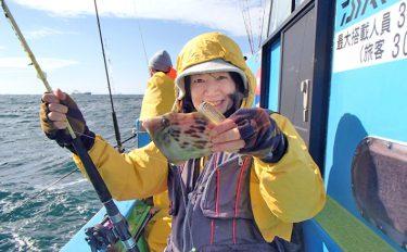 初心者もカワハギ次々キャッチ!釣果を持込み、絶品料理に大変身!