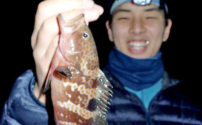良型多し!深夜の波止根魚釣りを楽しむコツ【タックル&エサ編】