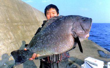 磯釣りのメッカ黒島へ!大型魚をキャッチ&キャッチ!【大里港の沖堤防】