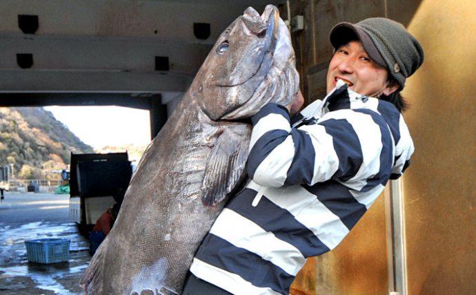 深海の巨大魚!アブラボウズとの格闘はまさにディープ【静岡県ひろし丸】