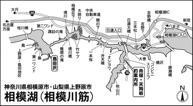 関東ヘラブナ今週の推薦釣り場【神奈川相模原市相模湖】