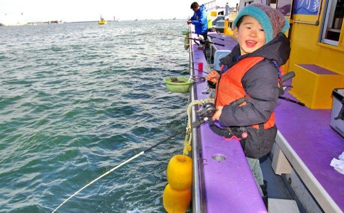 午後から楽ちん親子釣行!東京湾でLTアジ釣り満喫【神奈川県川崎つり幸】