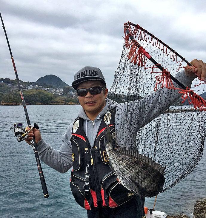春の乗っ込みチヌ釣り!50cmオーバーもお目見え【長崎県南南九十九島】