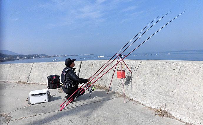 オススメ釣り場紹介。投げ釣りでカレイを狙え!【淡路島西浦浅野漁港】