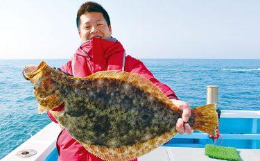船での泳がせ釣り。ヒラメ・マゴチ・サワラが登場!【愛知県・伊良湖沖】