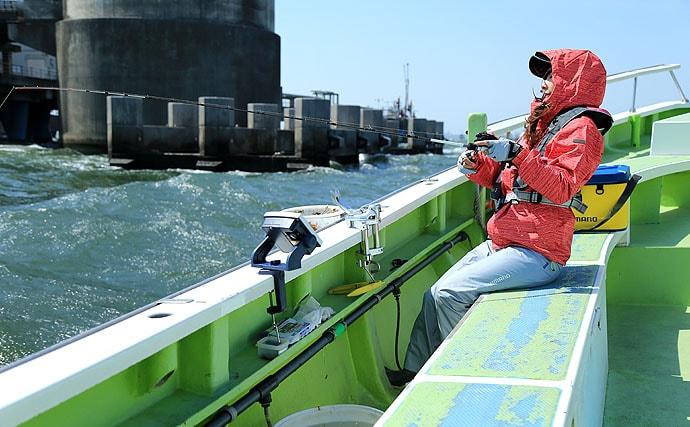 阪本智子の沖釣りインプレッション【東京湾・LTアジ】