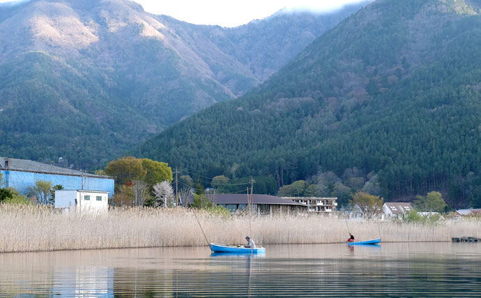 今週の関東ヘラブナ推薦釣り場【山梨県河口湖・舟釣り】