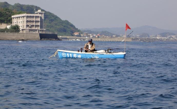 ボート釣りを楽しむ。狙いは戻りカレイ【神奈川県・斉田ボート】