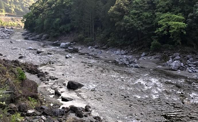 釣り方も紹介!アユ釣りオススメ河川ガイド【三重県・宮川上流】