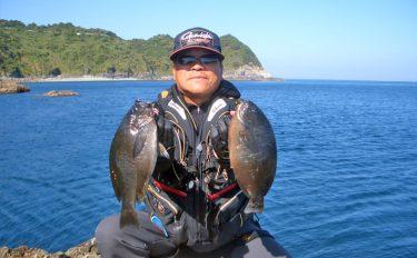 春磯の爆釣を堪能!フカセ釣りで狙うメジナ【長崎県・樺島】