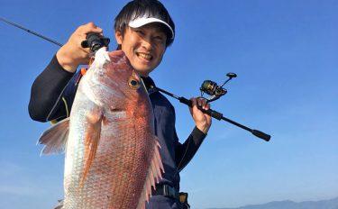 タイラバ&キャスティング釣行:63cm大ダイ登場!【鹿児島県・錦江湾】