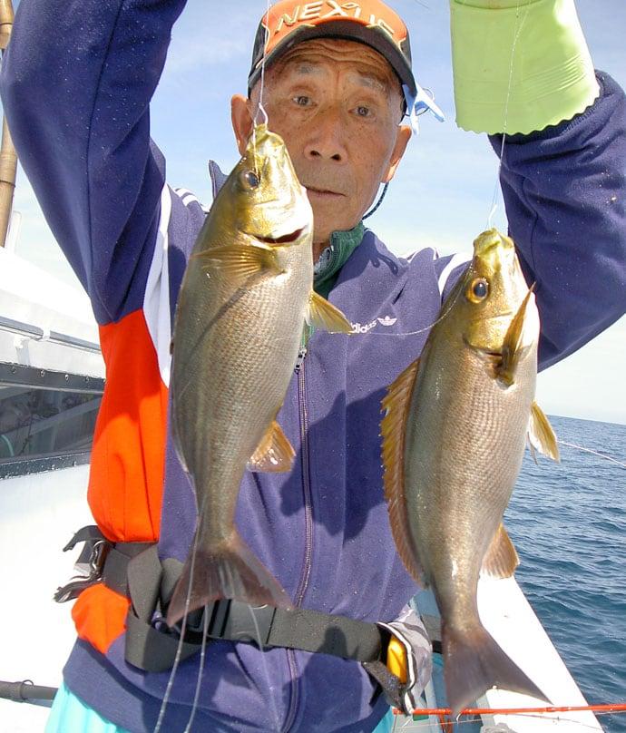 船釣りイサキ釣行!シャープな引きと数釣りを楽しむ【千葉県・大原港】