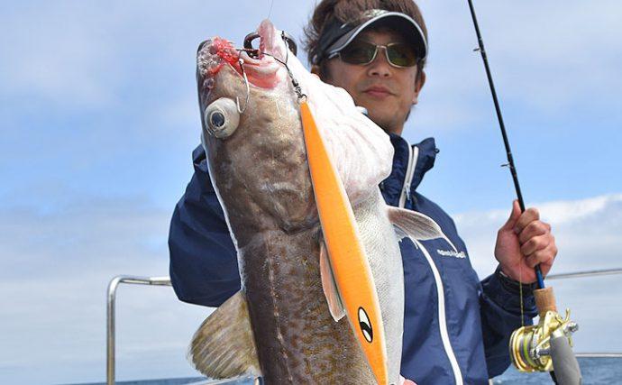 タラジギング攻略:中深海釣りで人気のタラ狙いを解説!【釣り方編】