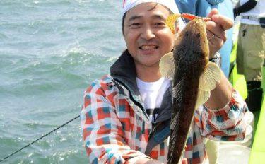 船ルアーマゴチ講習会&解説:ラバージグで釣る【東京都深川・吉野屋】