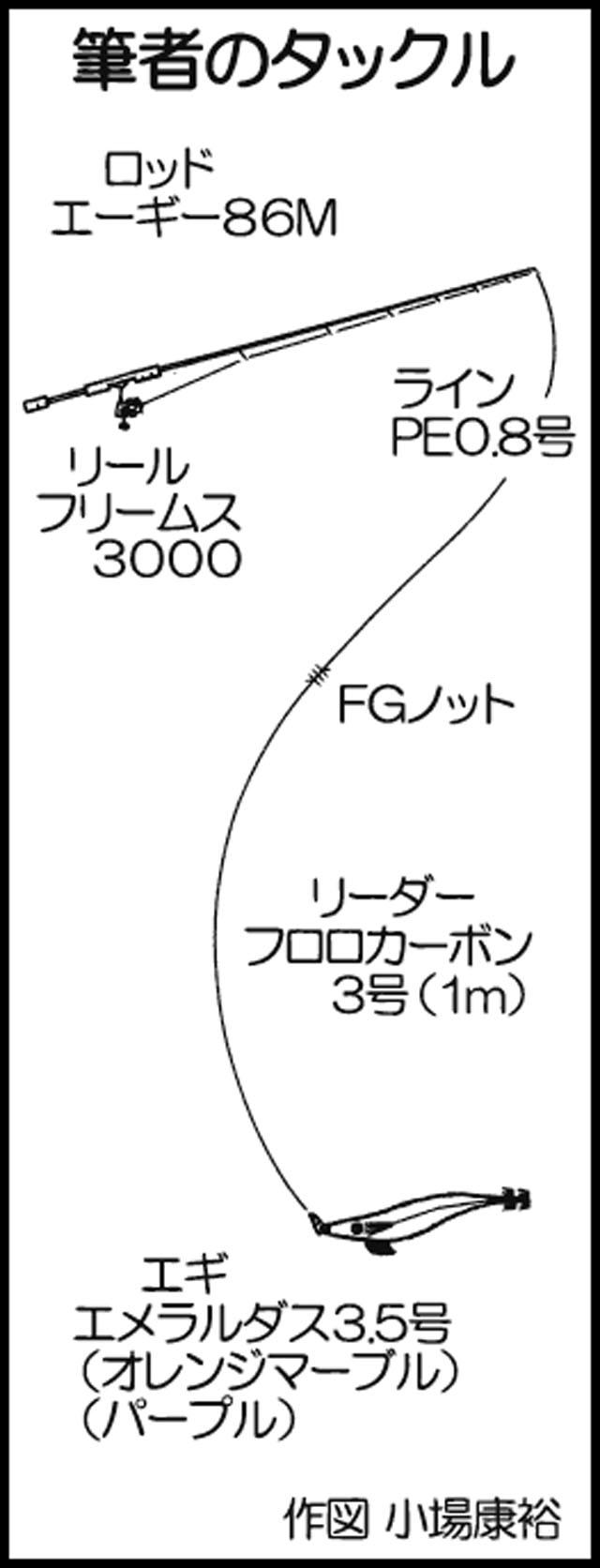 ボートエギング釣行:家族全員スミまみれ!【鹿児島県・羽島一帯】