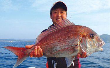 船から完全フカセ釣行:大型マダイにヒラマサ【京都府・丹後エリア】