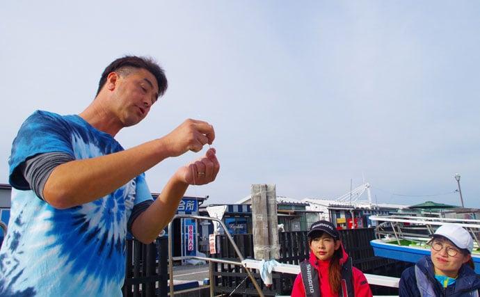 阪本智子の沖釣りインプレッション【神奈川県忠彦丸・LTタチウオ】