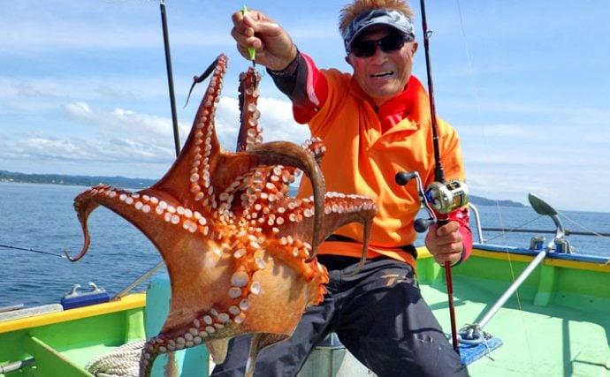 タコエギ船釣りを攻略!タックル&釣り方のキホン【解説】