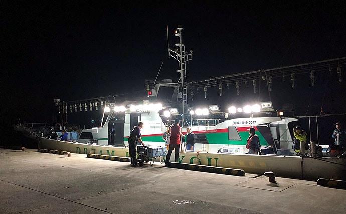 スルメ&ムギイカ釣行:イカメタルと胴つきで狙う!【福井県・豊漁丸】