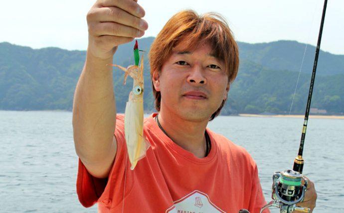イカメタル釣行:船中アカイカ168杯!【三重県・フィッシング光栄】