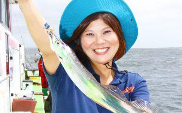 船タチウオ釣行:見事女性が竿頭!【神奈川県金沢八景・弁天屋】
