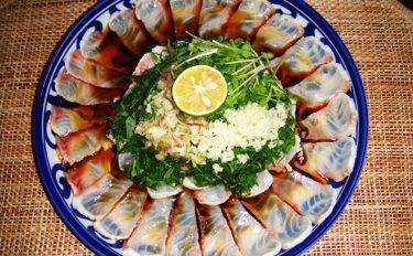 【釣果レシピ紹介】イシガキダイのたたき:目にも涼やか美味しい一品