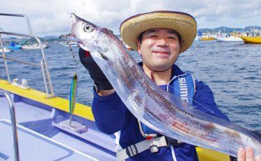 船タチウオ釣行:ジギングでドラゴン級が連発!【千葉県・宮川丸】
