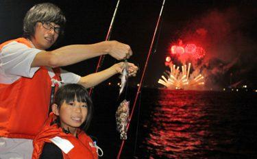 《夏休みオススメ》花火を見ながら親子で船釣り!【神奈川県:進丸】