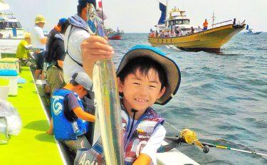 《夏休みオススメ》エサタチウオ船:親子で刀狩り【神奈川県・忠彦丸】